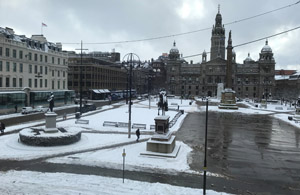 George Square in Snow